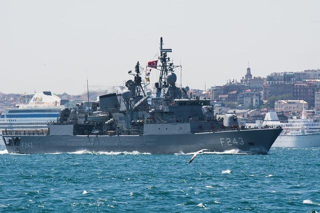válečná loď turecko