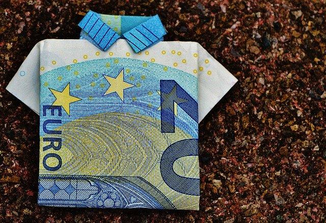 Poskládané peníze